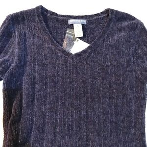 Canyon River Blues V-neck chenille sweater